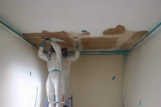 popcorn ceiling removal lake worth fl